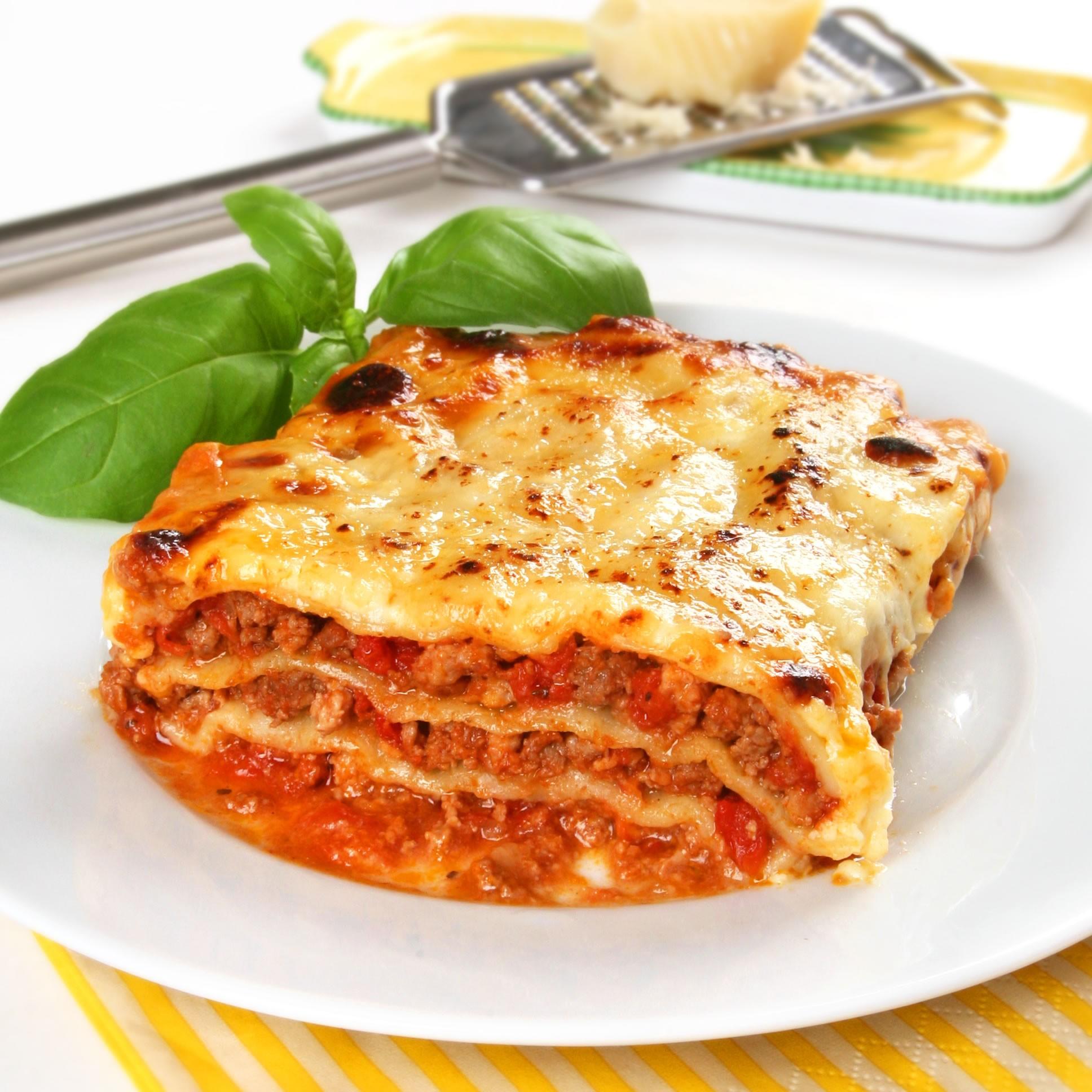 3d voedsel-printen lasagne.